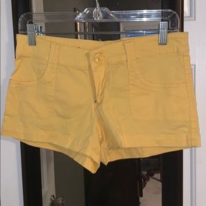 Cute Yellow Shorts